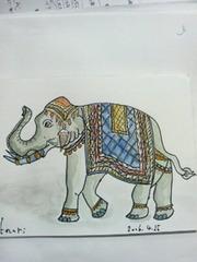 正装の象さん