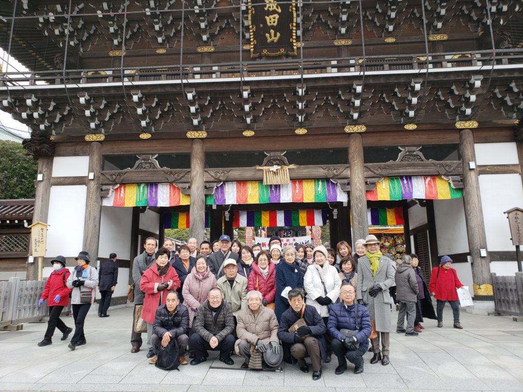 毎年恒例の成田山初詣